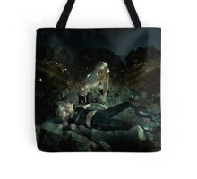 The White Devil Tote Bag