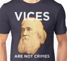 Lysander Spooner Vices are not Crimes Unisex T-Shirt