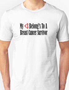 Breast Cancer Unisex T-Shirt