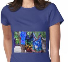 Washing Day in Paradise Womens Fitted T-Shirt