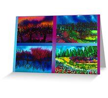 Four Seasons Greeting Card
