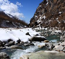 Mountain Stream by aidan  moran