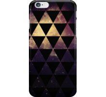 Geometric Space Triangles iPhone Case/Skin