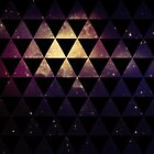 Geometric Space Triangles by Krystle