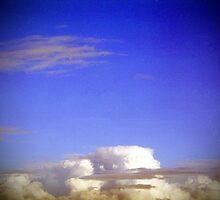 azure sky above me by Juilee  Pryor