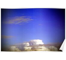 azure sky above me Poster