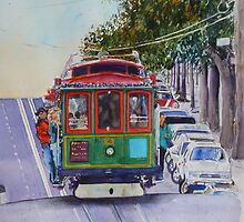 San Francisco Cablecar by jadlart