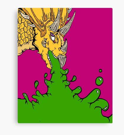 Styracosaurus Vomit Canvas Print