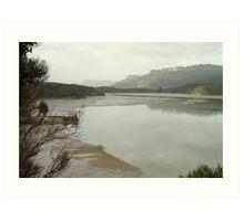 Turning tide, Whanganui Inlet Art Print
