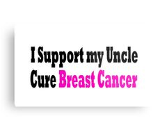 Breast Cancer Metal Print
