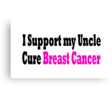 Breast Cancer Canvas Print