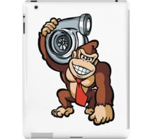DK holding turbo iPad Case/Skin
