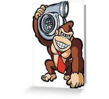 DK holding turbo Greeting Card