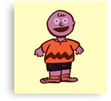 Excited Charlie Brown Canvas Print