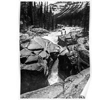 Mistaya Canyon Falls Poster