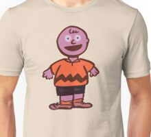 Excited Charlie Brown Unisex T-Shirt