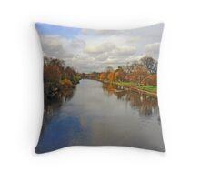 York's River Ouse Throw Pillow