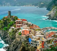 Vernazza In The Cinque Terre by Nancy Alford