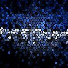 Blue Mosaic by wanda1505