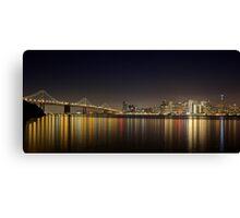 Reflections of San Francisco Canvas Print