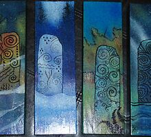 Seasons standing stones by Firebane