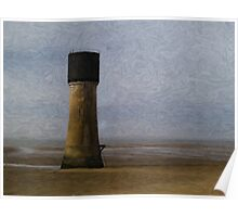 Spurn Point - Watercolour effect Poster