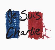 Jes Suis Charlie Hebdo Vive La France Baby Tee