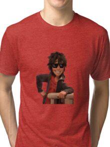 transparent hiro hamada with swag Tri-blend T-Shirt