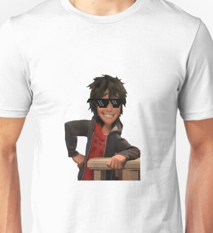 transparent hiro hamada with swag Unisex T-Shirt