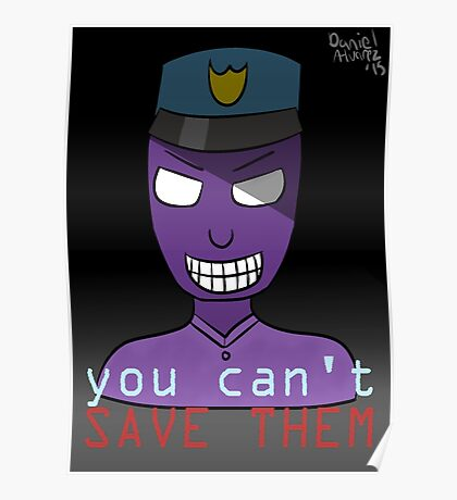 you can't SAVE THEM Poster