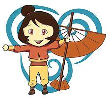 Jinora (Chibi) - Legend of Korra by JMHunter