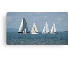 """Sails"" Canvas Print"