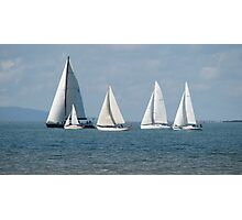 """Sails"" Photographic Print"