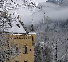 Schloss Neuschwanstein by Simon Zybek
