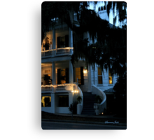 Evening at Rhett House Inn Canvas Print