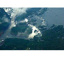 Iguassu Falls Brazil. Photographic Print