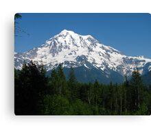 Mount Rainier Canvas Print