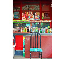 Chinese Neighborhood Store Photographic Print