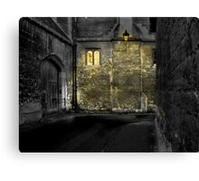 An Oxford lane Canvas Print