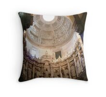 Coimbra Old Cathedral Throw Pillow