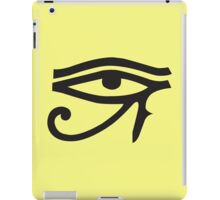 Eye of Horus Lemon iPad Case/Skin