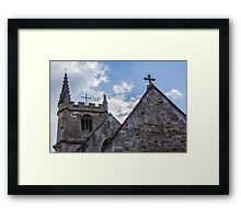 St. Andrew's Church, Castle Combe Framed Print