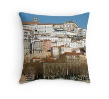 Coimbra City Throw Pillow