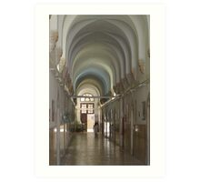 Saint Vincent de Paul's Monastery in Jerusalem Art Print