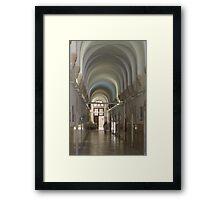 Saint Vincent de Paul's Monastery in Jerusalem Framed Print