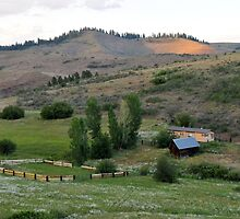 Farm in Eastern Oregon by jcimagery
