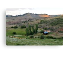 Farm in Eastern Oregon Canvas Print