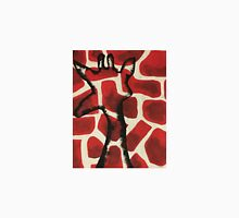 Red/Black Giraffe Unisex T-Shirt