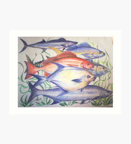 fish wall Art Print
