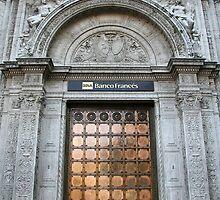 Copper door by Maggie Hegarty